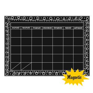 Big Chalkboard Magnetic Calendar