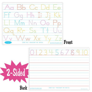 Manuscript Writing Smart Poly 2-Sided Learning Mat