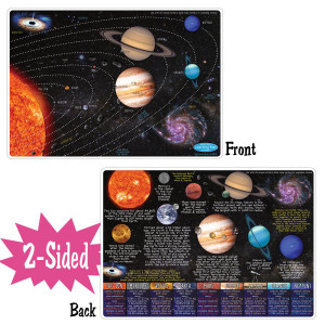 Solar System Smart Poly 2-Sided Learning Mat