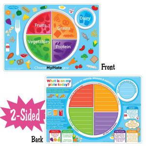 MyPlate.gov Smart Poly 2-Sided Learning Mat