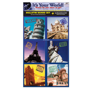 It's Your World! Bulletin Board Kit