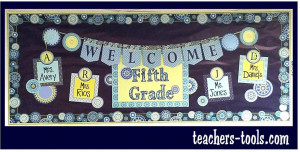 *Blue Harmony Welcome Bulletin Board