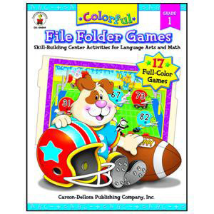 Colorful File Folder Games Book-1