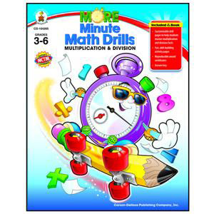 More Minute Math Drills: Multiplication and Divisi