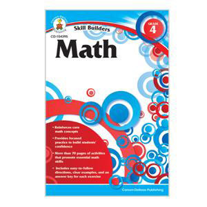 Math Skill Builders Workbook-4