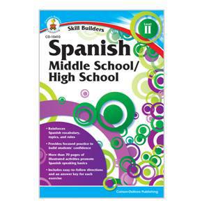 Spanish II Skill Builders Workbook 6-8