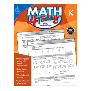 Math 4 Today Book-Kindergarten