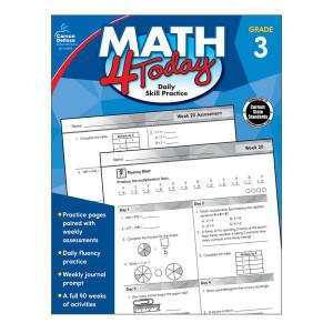 Math 4 Today Book-Grade 3