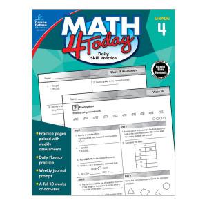 Math 4 Today Book-Grade 4