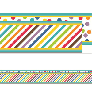 Color Me Bright Straight 2-Sided Border