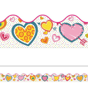 Hearts Valentine Border