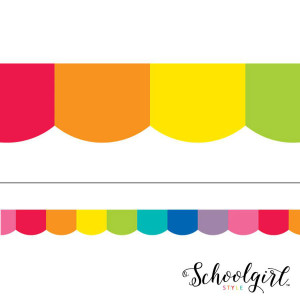 Hello Sunshine Rainbow Border