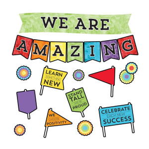 Celebrate Learning We Are Amazing Bulletin Board