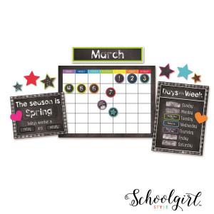 Star Calendar Bulletin Board