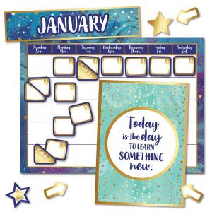 Galaxy Calendar Bulletin Board