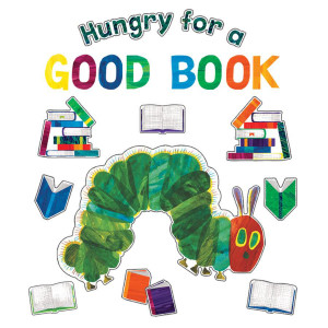 Eric Carle Hungry for a Good Book Bulletin Board