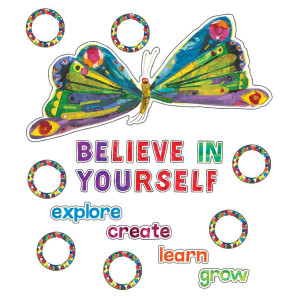 Eric Carle Believe in Yourself Bulletin Board