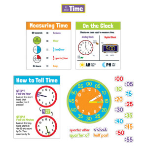 All About Time Bulletin Board