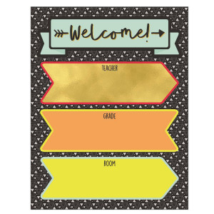 Aim High Welcome Poster