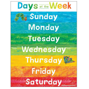The World of Eric Carle Days of the Week Poster