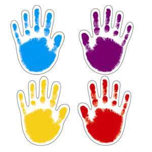 Handprints Cut-Outs