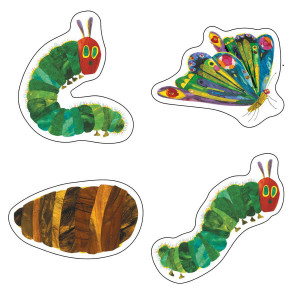 The Very Hungry Caterpillar by Eric Carle Cut-Outs