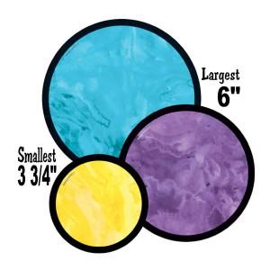 Watercolor Confetti Cut-Outs