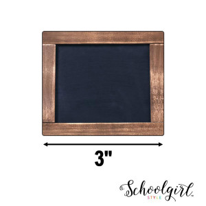 Industrial Chic Chalkboard Mini Cut-Outs