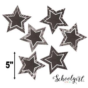 Chalkboard Stars Cut-Outs