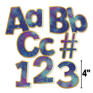 "Galaxy 4"" EZ Letters-Combo Pack"