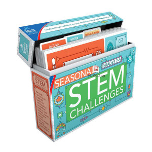 Seasonal STEM Challenges Box-Grades 2-5