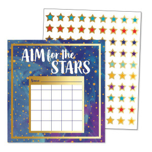 Galaxy Incentive Charts with Stickers