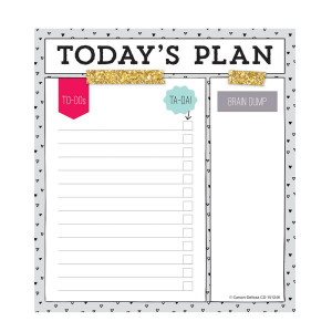 Today's Plan Notepad