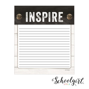 Industrial Chic Shiplap Notepad