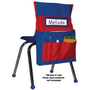 Chairback Buddy-Blue and Red