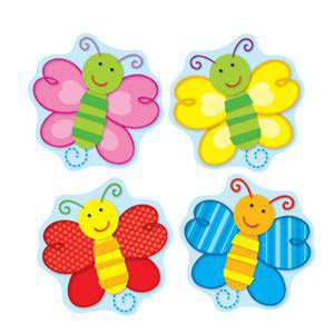 Butterflies Shape Stickers