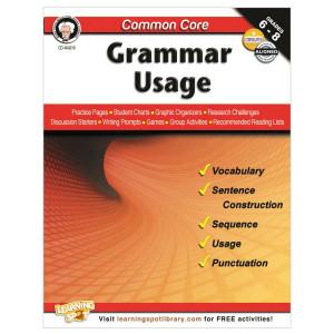 Grammar Usage Book-Grades 6-8