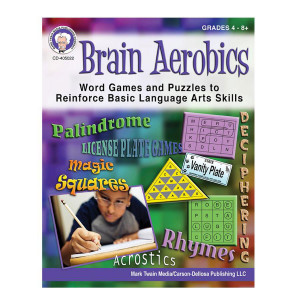 Brain Aerobics Book-Grades 4-8+