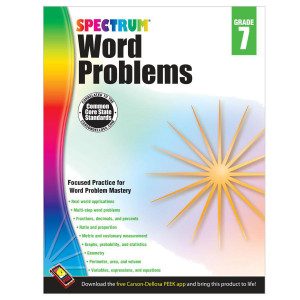 Spectrum Word Problems Workbook-Grade 7