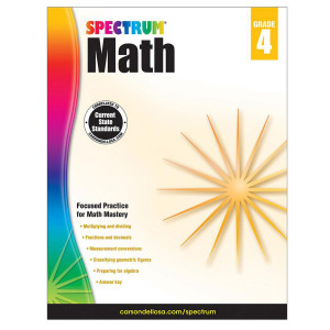 Spectrum Math Book-Grade 4