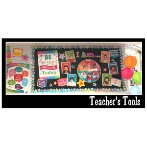 *Colorful Vibes Bulletin Boards