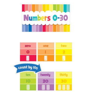 Numbers 0-30 Mini Bulletin Board