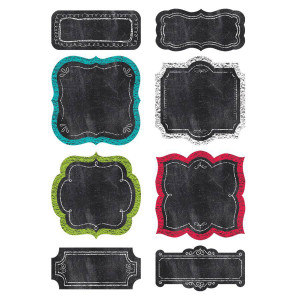 """Chalk It Up! Chart Cards 6"""" Cut-Outs"""