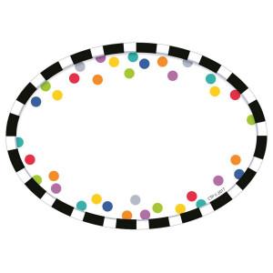 Bold & Bright Stripes & Dots Nametags