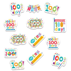 Happy 100th Day! Stickers