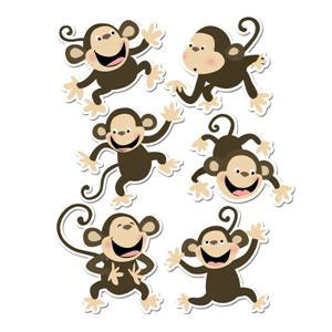 Monkey Cut-Outs