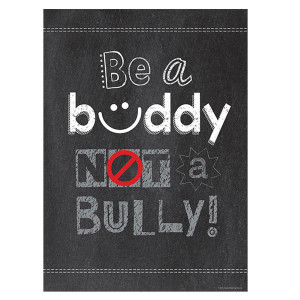 Be A Buddy, Not a Bully Inspire U Poster