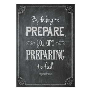 By Failing to Prepare Inspire U Poster