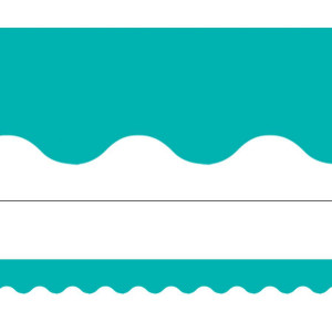 Turquoise Solid Border