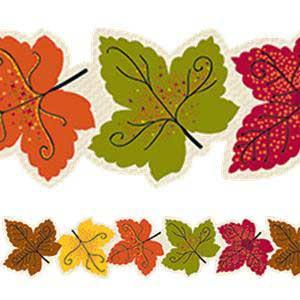 Maple Leaves Border